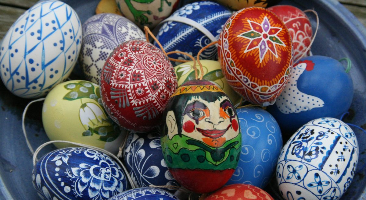Food and traditions for Easter in a small village in Romania